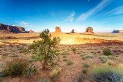 Immagine di alta risoluzione della valle del monumento, Utah, U.S.A. Immagini Stock Libere da Diritti