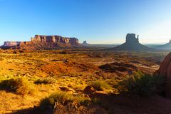 Immagine di alta risoluzione della valle del monumento, Utah, U.S.A. Fotografia Stock