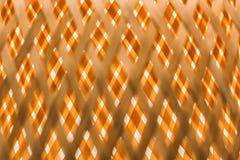 Immagine di alta risoluzione di oro e di struttura di legno bianca Immagini Stock