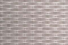 Immagine di alta risoluzione di struttura grigia e bianca del tessuto Fotografie Stock Libere da Diritti