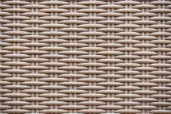 Immagine di alta risoluzione di struttura marrone del rattan Fotografie Stock