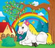 Immagine 4 di argomento del cavallo Fotografie Stock Libere da Diritti