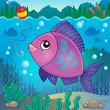 Immagine 6 di argomento del pesce di acqua dolce Immagine Stock Libera da Diritti