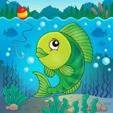 Immagine 5 di argomento del pesce di acqua dolce Fotografia Stock