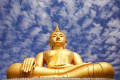 Immagine di Buddha dell'oro Fotografia Stock Libera da Diritti