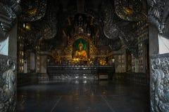 Immagine di Buddha e del tempio Immagine Stock Libera da Diritti