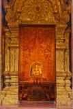 Immagine di Buddha in santuario Fotografie Stock Libere da Diritti