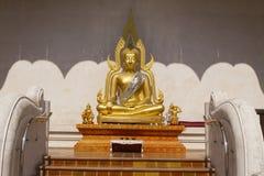 Immagine di Buddha a Wat Jadi Luang in Chiangmai, Tailandia Immagini Stock