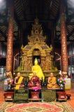 Immagine di Buddha a Wat Phra Singh Woramahaviharn immagine stock libera da diritti