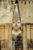 Immagine di Buddha a Wat Sri Chum Immagini Stock Libere da Diritti
