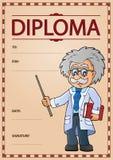 Immagine 6 di concetto del diploma royalty illustrazione gratis