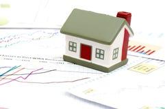 Immagine di concetto del mercato degli alloggi Immagini Stock Libere da Diritti
