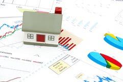 Immagine di concetto del mercato degli alloggi Immagini Stock
