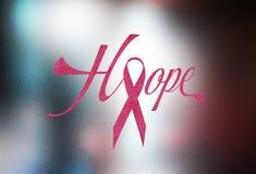 Immagine di concetto del nastro di rosa del cancro di Brest Fotografie Stock Libere da Diritti