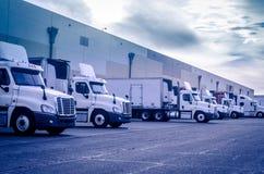 Immagine di concetto di logistica di trasporto di trasporto Immagine Stock Libera da Diritti