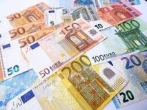 Immagine di euro banconote di valuta Immagine Stock Libera da Diritti