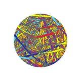 Immagine di fantasia del rotolo dei coriandoli illustrazione vettoriale