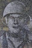 Immagine di fantasma del soldato della guerra di Corea Immagine Stock Libera da Diritti