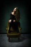 Immagine di fascino della ragazza fotografie stock libere da diritti