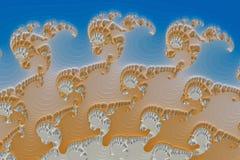 immagine di frattalo 3D Fotografia Stock