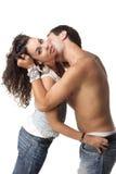 Immagine di giovane coppia Immagine Stock