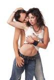 Immagine di giovane coppia immagine stock libera da diritti