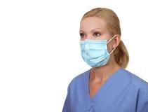 Immagine di giovane infermiera femminile Fotografia Stock Libera da Diritti