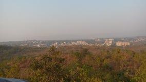 Immagine di Greenlife di un parco a Jamshedpur Fotografie Stock Libere da Diritti