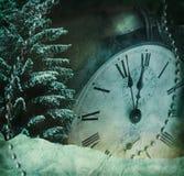 Immagine di Grunge di nuovi anni Eve illustrazione di stock