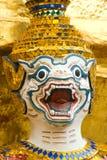 Immagine di Hanuman a Wat Phra Kaeo a Bangkok Immagine Stock