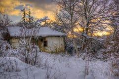 Immagine di inverno dalla Bulgaria Immagini Stock Libere da Diritti