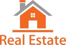 Immagine di logo e del bene immobile Immagini Stock Libere da Diritti