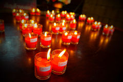 Immagine di lume di candela della fiera Fotografia Stock