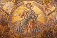 Immagine di mosaico del Gesù Cristo Fotografia Stock Libera da Diritti