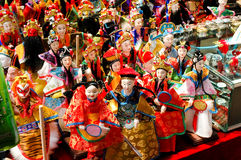 Immagine di opera della Cina Fotografie Stock