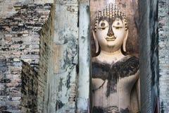 Immagine di Phra Achana Buddha al tempio dell'amico di si nel Sukhothai ciao fotografia stock