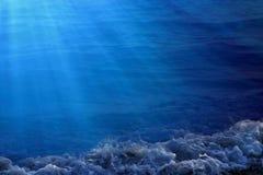 Immagine di priorità bassa dell'acqua Fotografie Stock Libere da Diritti