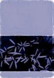 Immagine di priorità bassa strutturata con gli elementi floreali illustrazione di stock