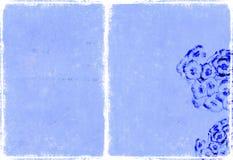 Immagine di priorità bassa strutturata con gli elementi floreali royalty illustrazione gratis