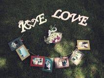 Immagine di progettazione di arte degli album di nozze fotografia stock