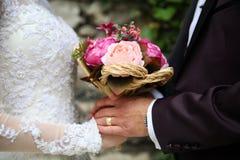 Immagine di progettazione di arte degli album di nozze fotografie stock