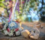 Immagine di progettazione di arte degli album di nozze Fotografia Stock Libera da Diritti