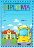Immagine 5 di progettazione del diploma Immagine Stock