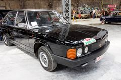 Immagine di riserva automobilistica d'annata di Tatra T-613 Fotografia Stock Libera da Diritti