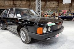 Immagine di riserva automobilistica d'annata di Tatra T-613 Fotografie Stock