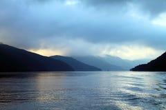 Immagine di riserva del lago Hakone, Giappone Fotografie Stock Libere da Diritti