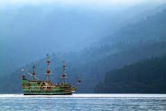 Immagine di riserva del lago Hakone, Giappone Fotografia Stock
