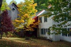Immagine di riserva del Vermont, U.S.A. Fotografia Stock
