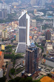 Immagine di riserva dell'orizzonte della città di Kuala Lumpur Fotografia Stock Libera da Diritti