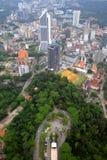 Immagine di riserva dell'orizzonte della città di Kuala Lumpur Immagini Stock Libere da Diritti